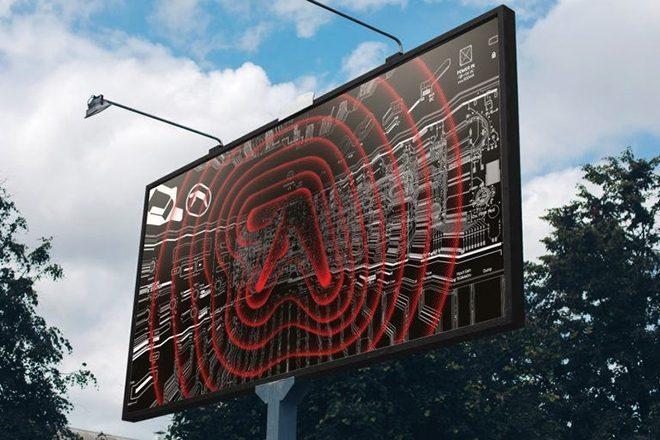 Aphex Twin logoları dünya şehirlerinde