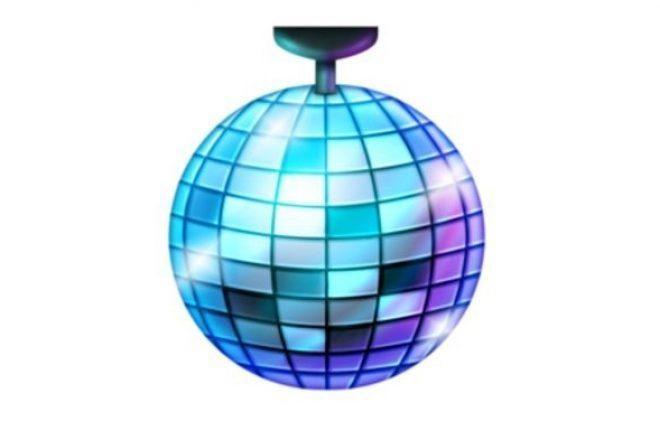 Disko topu emojisi sonunda geliyor