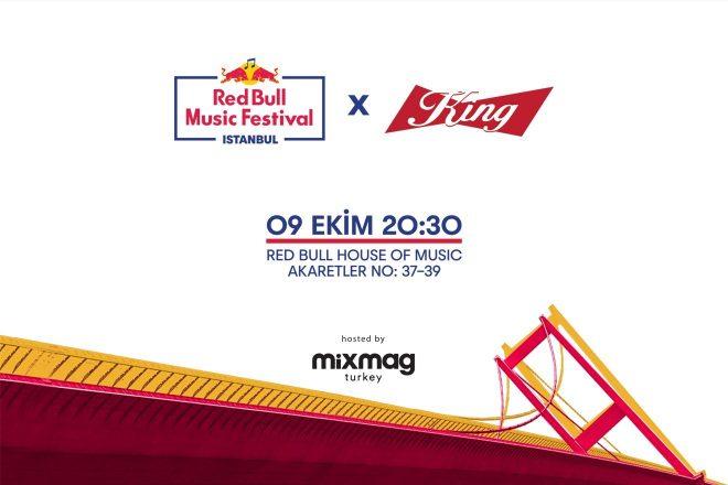 Red Bull Music Festival deneyimi King ile taçlanıyor
