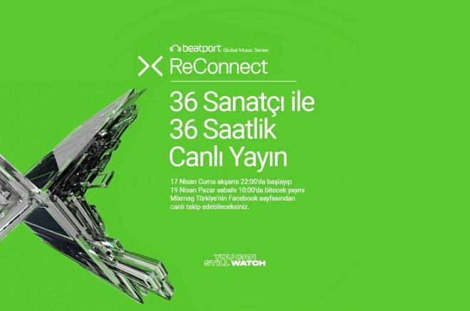 Beatport'un ReConnect canlı yayın serisi 36 saatlik ikinci bölümle devam ediyor