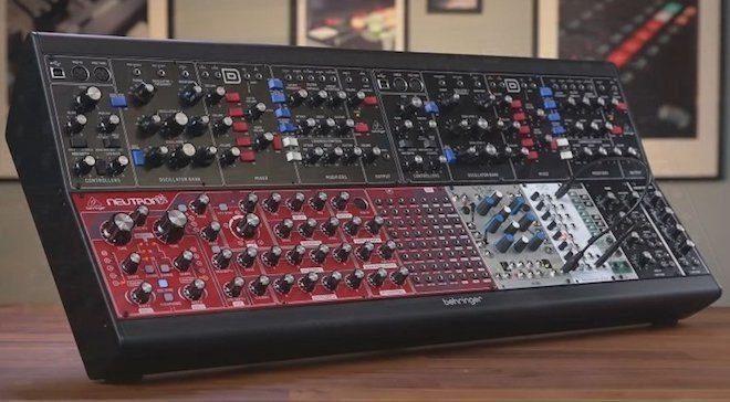 Behringer yeni Eurorack kasası ve Moog modüllerini tanıttı