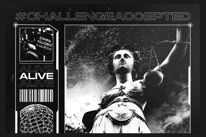 """Kadın dayanışması dans ritimlerinde: """"#challengeaccepted: Alive"""""""