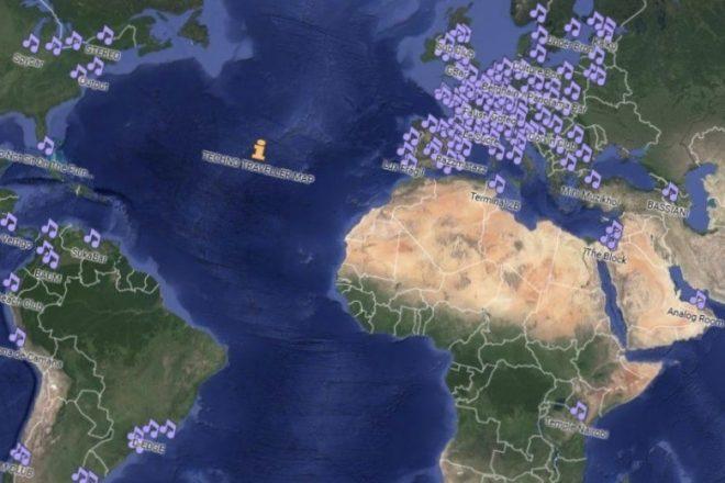 Tekno gezgini haritası artık uygulama olarak da mevcut