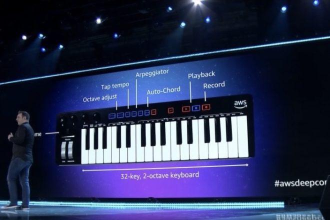 Amazon yapay zeka tabanlı müzik kompozisyon klavyesi üretti