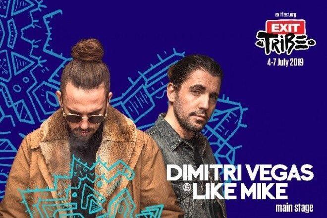 Dimitri Vegas & Like Mike ve Sofi Tukker Exit Festival'de Performans Gösterecek