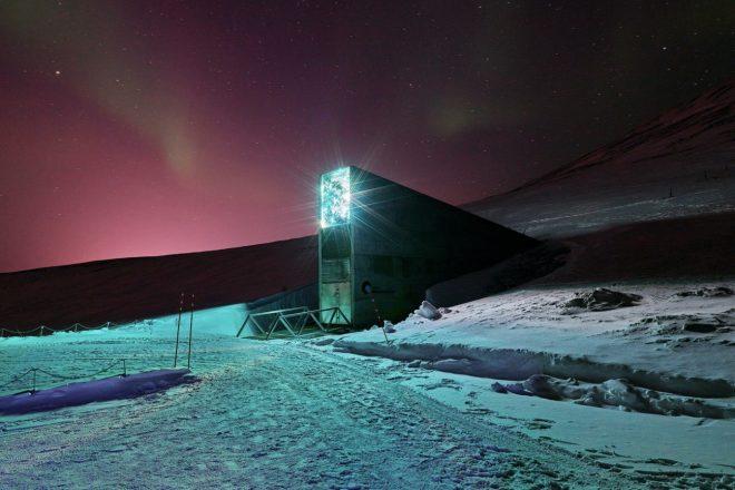 Arktik adasında müzik için 'kıyamet günü arşivi' inşa ediliyor