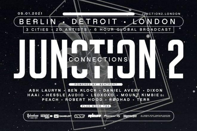 Junction 2 Connections: 20 sanatçıyla 3 ikonik şehirden canlı yayın
