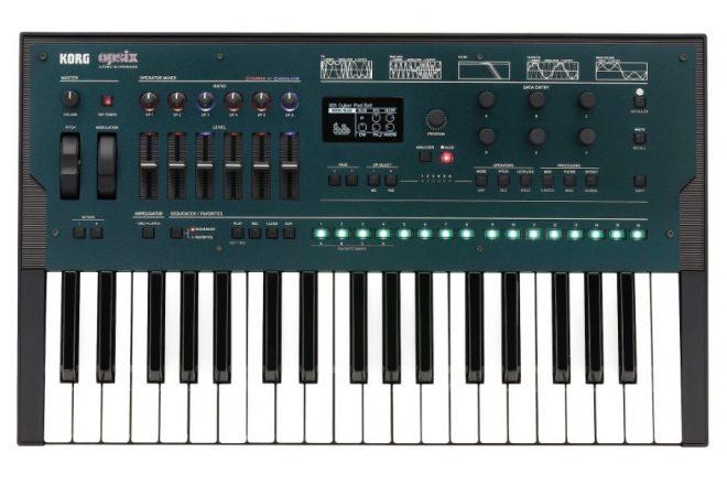 Korg yeni FM synth modeli opsix'i tanıttı