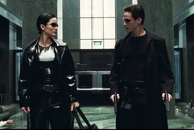 Keanu Reeves ve Carrie-Anne Moss yeni Matrix filminin kadrosunda