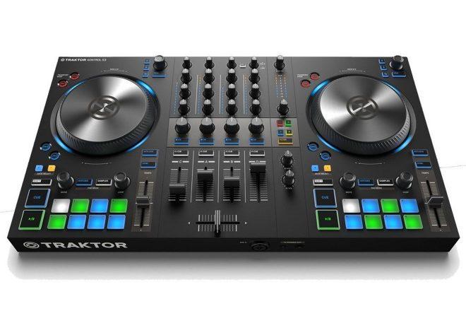 NI dört kanallı yeni DJ kontrol ünitesi 'Traktor Kontrol S3'ü tanıttı