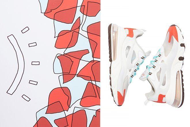 Nike, Air Max 270 React için genç sanatçılarla çalıştı