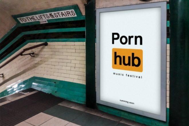 Pornhub'dan House ve Tekno Festivali