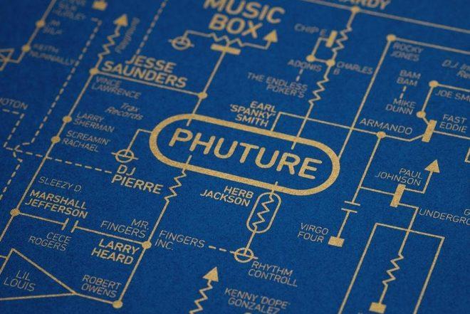 Bu poster acid house ve rave kültürünün haritasını gösteriyor