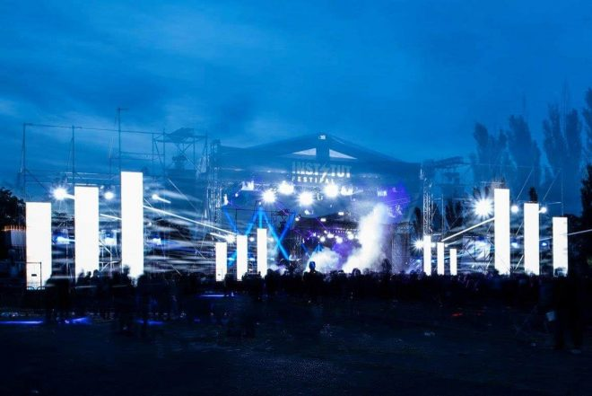 19. yüzyıldan kalma kalede techno festivali: Instytut