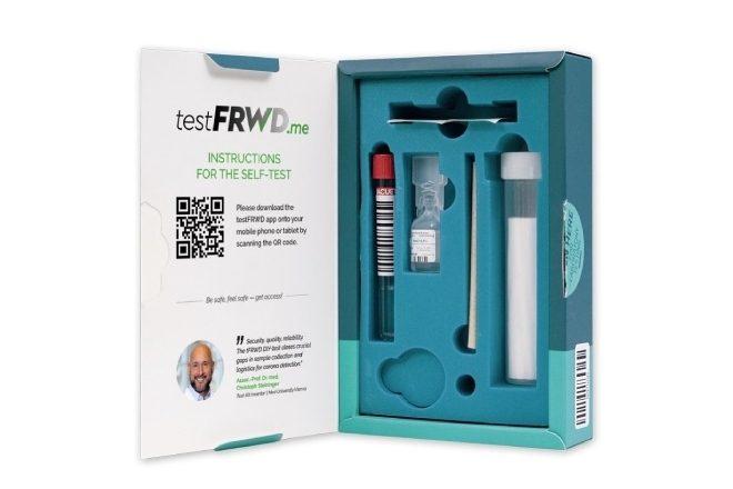 Avusturya'da gargara ile koronavirüs testi yapılan pratik bir kit geliştirildi